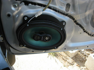 2008 Toyota Tacoma Access Cab Front Door Speaker Installation - USA