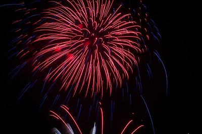 Fireworks at Chester 2016