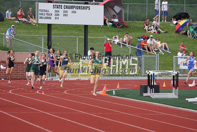 Boys and Girls 800 Meters by Pat - 2011 MHSAA LP T&F Finals Division 1