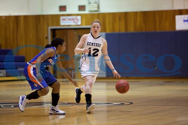 Women's Basketball 02/03/12 vs New Paltz