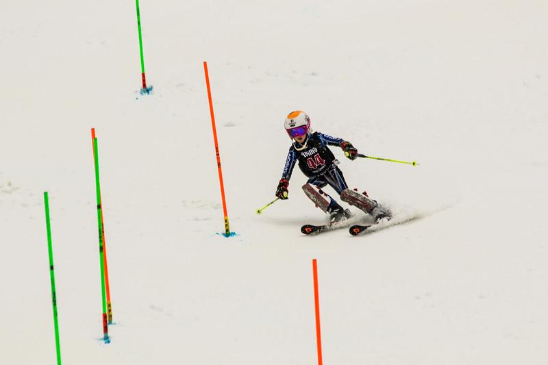 Mia BRUNO No. 44 (WPRC) in the 2017 Willi's Slalom U8-U14 Women - Seven Springs