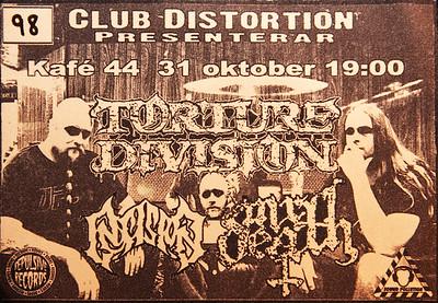 INSISION - Club Distortion  Kafé 44 31/10 2009