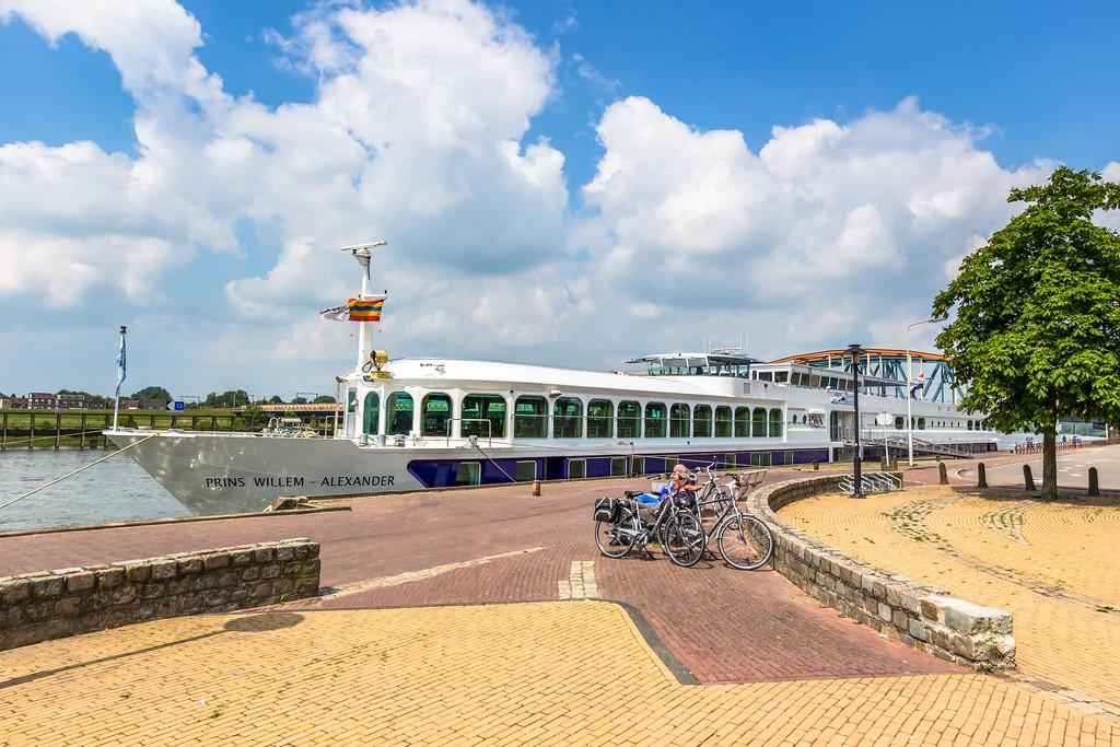 Schepen op de IJssel