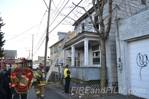 Luzerne County - Hazleton City - Dwelling Fire - 04/01/2013