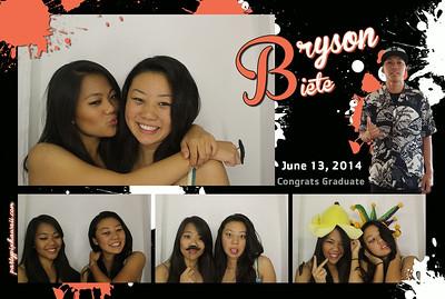 Bryson's Graduation (Luxury Photo Booth)