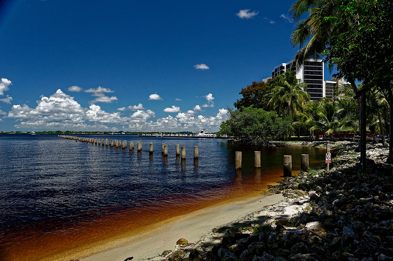 Original Pier Location - Caloosahatchee RiverFront
