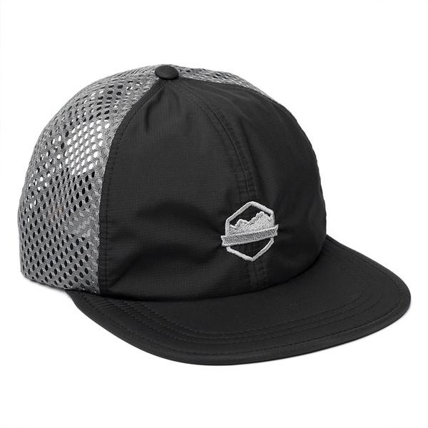 Organ Mountain Outfitters - Outdoor Apparel - Sportswear Headwear - OMO Performance Mesh Cap - Black Charcoal.jpg