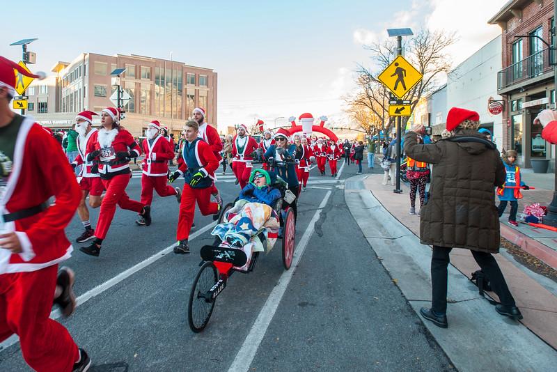 Santa Run Ogden