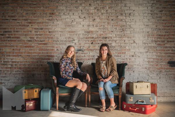 Hannah & Caitlin McBee