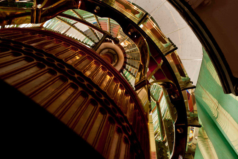 Fresnel lens, Point Reyes lighthouse