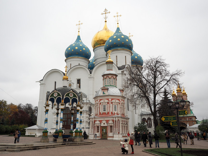 Cathedral of the Assumption at Troitse-Sergiev Monastery