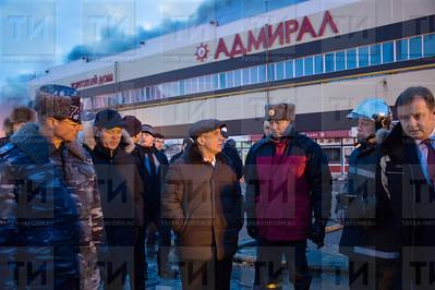 Пожар ТЦ Адмирал 2015