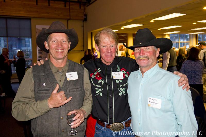Dean Jones, Corky McDonald, and Floyd