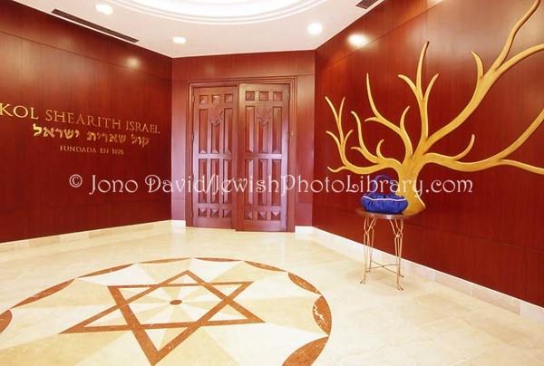 PANAMA, Panama City. Kol Shearith Israel Synagogue. (2008)