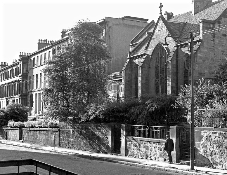 Renfrew St, north side west of Scott St.  August 1974
