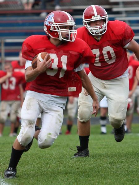 Lenape Valley vs Newton - J.V. Football