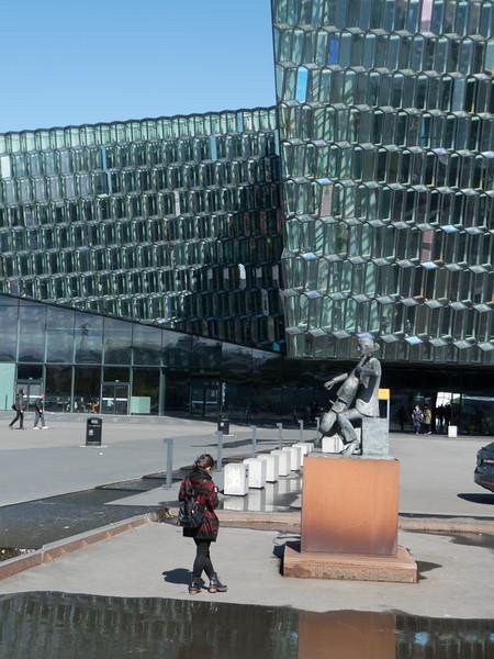 The Musician (1970) – Ólöf Pálsdóttir. Harpa Concert Hall. Reykjavik