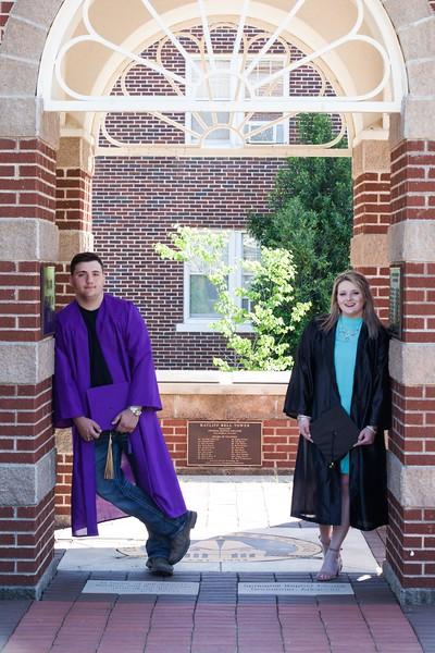 Marshall and Mallory - Graduates