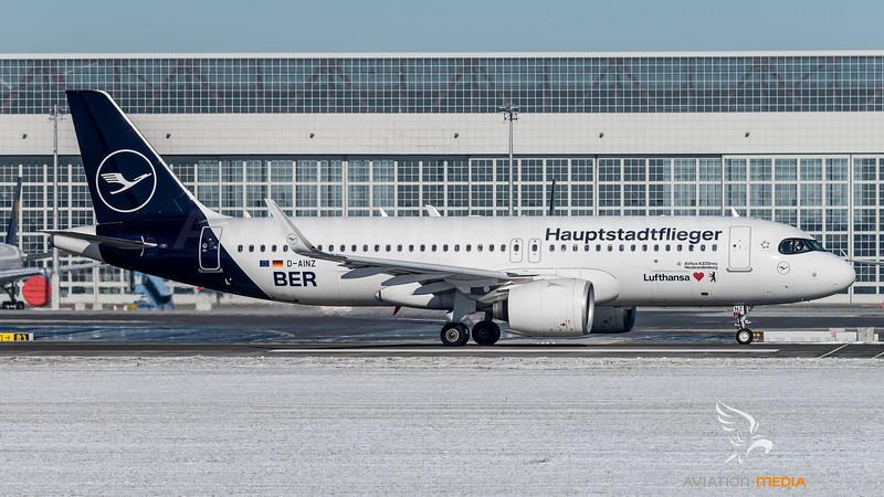 Lufthansa / Airbus A320-271N / D-AINZ / Hauptstadtflieger BER Livery