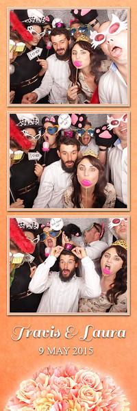 Travis & Laura's Wedding Photostrips