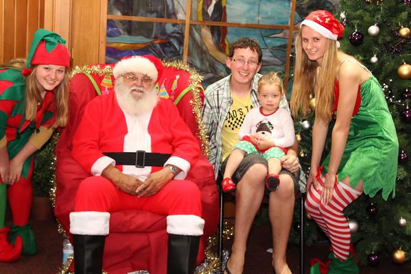 Santa's Grotto  Monday 16.12.13