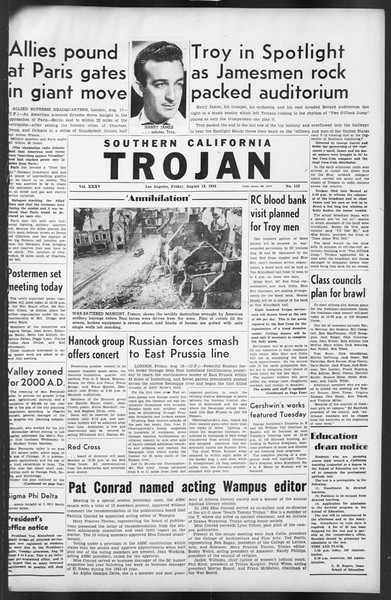 The Trojan, Vol. 35, No. 152, August 18, 1944