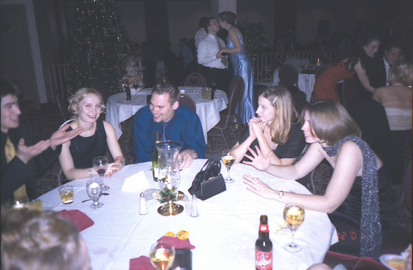 Sybase Christmas Party 2001