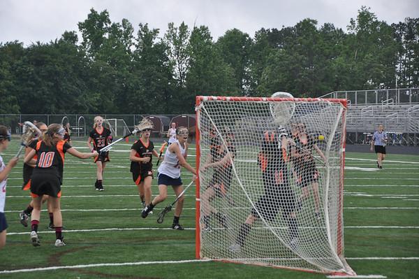 Charlottesville vs. Albemarle girls lacrosse 2012