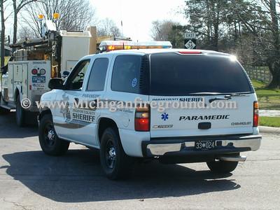 4/15/05 - Dansville fuel spill, M-36 & Meridian Rd