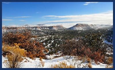 Los Alamos Main Hill Road Overlook