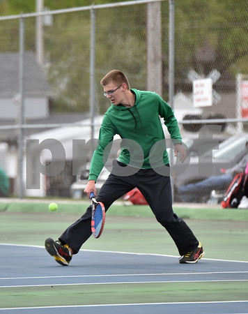 Kuemper Catholic @ St. Edmond Boys Tennis 4/27/17