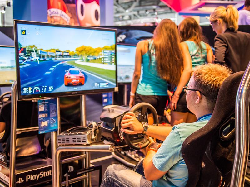 Gran Turismo 6 at Gamescom 2013