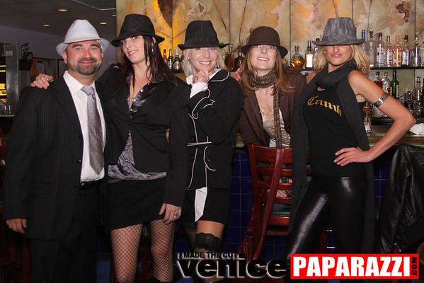 December birthdays Debi Nevill, Evan Button & KJB Kiely birthday at the Canal Club.  Canal Club Sushi and Bar Restaurant 2025 Pacific Ave. Venice, CA 90291