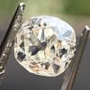 0.94ct Antique Cushion Cut Diamond GIA K Sl1 5