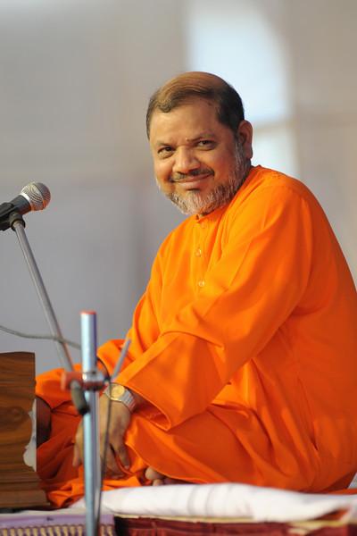 Swami Tejomayanandaji. Picture by Sanjiv.