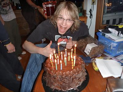 Adams 18th Birthday