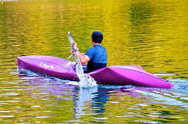 Kayak on the Chattahochee River