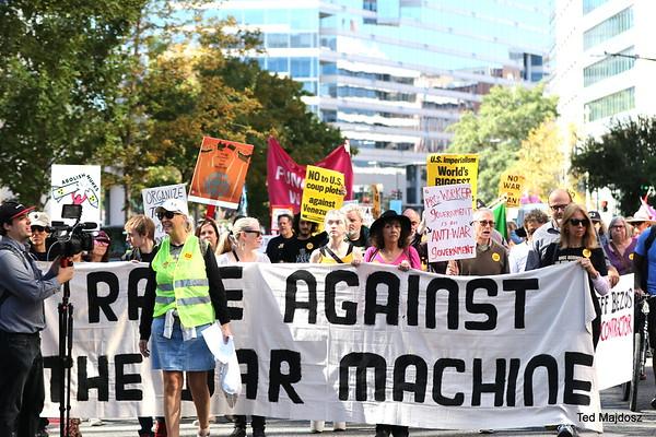Rage Against The War Machine  Oct. 11, 2019