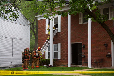Ladue Town House Fire 4-15-2012