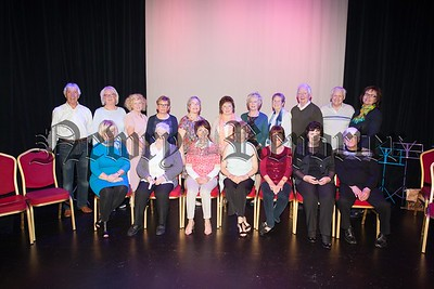 Pictured are the singers at Newry Arts Centre who took part in a Imagine Arts Programme facilitated by Kaleidoscope. R1521004