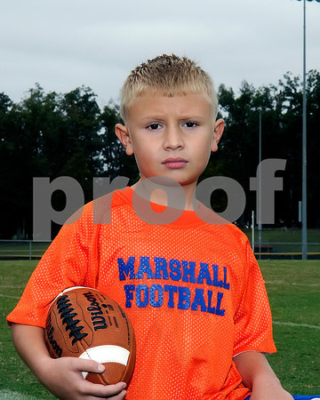 Marshall County Flag Football 2012, September 15, 2012, South Team 3, Coaches Steven Nix, Jamie Abney, Chad Short & Wes Lindsey.