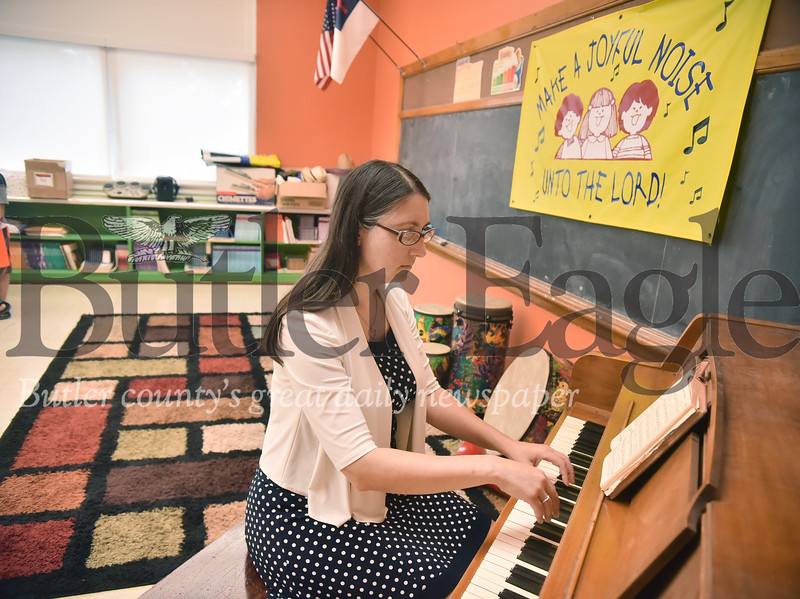 58444 HIS Kids Christian School getting full-time music teacher Suzanne Adams