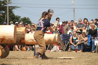 Logging Show: Single Buck Handsaw