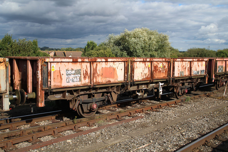 OCA 112129 on 6x38 Marchwood-Didcot at Didcot 18.09.13.
