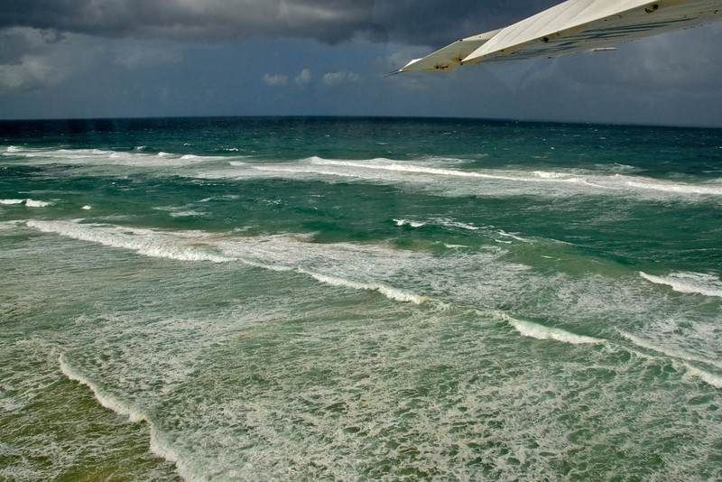Storm Clouds and Wing 2, Fraser Island - Queensland, Australia