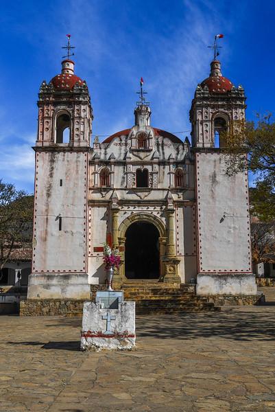 Church in San Miguel del Valle, Oaxaca Valley, Mexico.