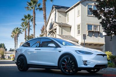 2019 Tesla Model X - Full STEK DYNOShield PPF with Cquartz Finest Reserve