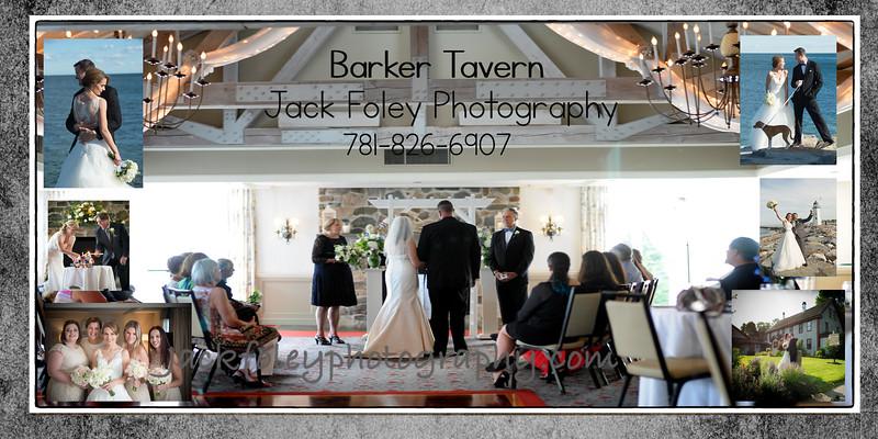 barker wedding samples