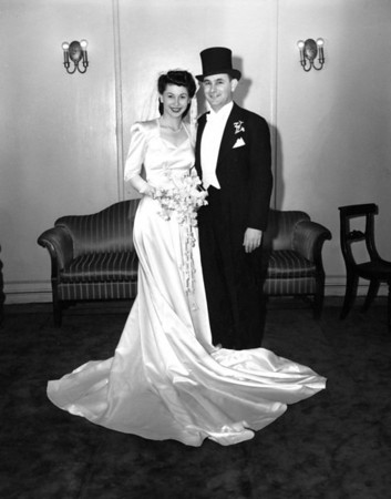 Wedding Album:<br>Carl Rothschild and Naomi Bloom, 1946