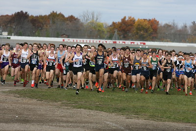 D1 Boys at 500 Meters - 2018 MHSAA LP XC Finals
